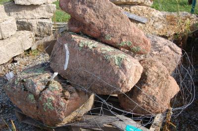 Weathered Granite Boulder