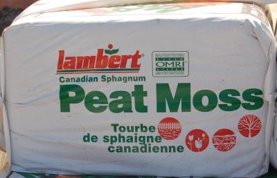 Sphagnum Peat Moss (bale)