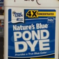 Nature's Blue Pond Dye