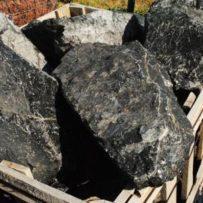 Black Obsidian Boulders